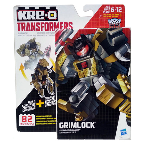 Kre-O Transformers Kreon Battle Changer Grimlock