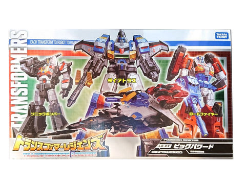 Transformers Legends EX Big Powered Box art