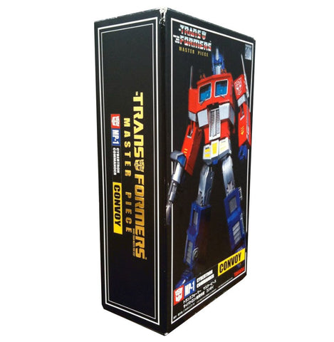 Transformers Lucky Draw MP-01 Convoy Gold Chrome Optimus Prime Box Package