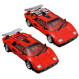 Transformers Masterpiece MP-39+ Spinout Red Diaclone Sunstreaker Lambo Countach Toy Japan TakaraTomy