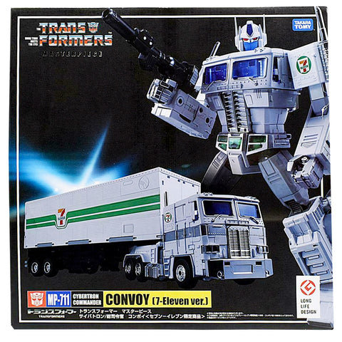 Transformers Masterpiece MP-711 Convoy 7-Eleven Ver. Japan TakaraTomy Box Package Front