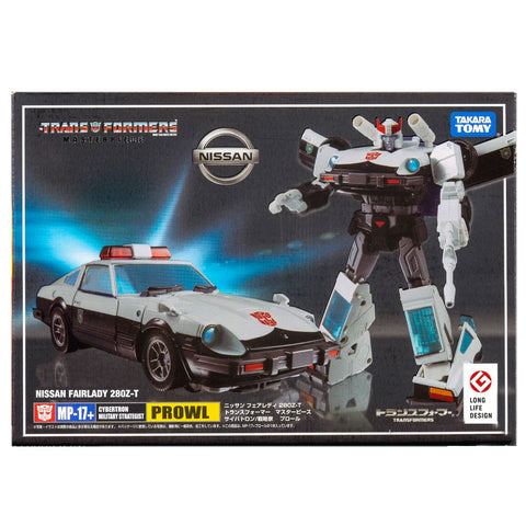 Transformers Masterpiece MP-17+ Plus Prowl Anime Japan TakaraTomy Box Package Front