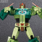Transformers Masterpiece MP-10DC Convoy Duckcamo Ver. Cybertron Commander Robot Toy Matrix chest open