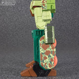 Transformers Masterpiece MP-10DC Convoy Duckcamo Ver. Cybertron Commander Side leg camouflage