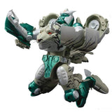 Transformers Masterpiece MP-50 Tigatron Beast Wars Robot Toy on knees TakaraTomy Japan