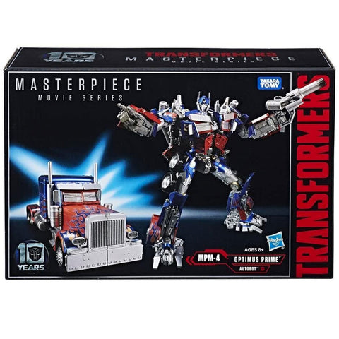 Transformers Movie Masterpiece Series MPM-4 Optimus Prime Hasbro USA Box Package Front