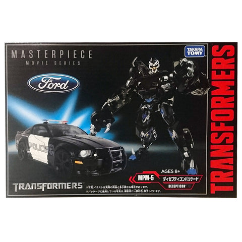 Transformers Masterpiece Movie Series MPM-5 Barricade Japan TakaraTomy Box Package Front