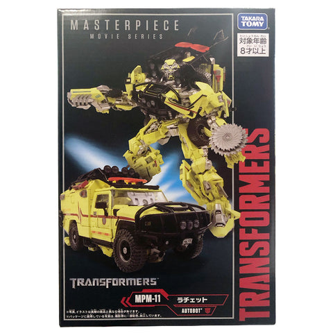 Transformers Masterpiece Movie Series MPM-10 Ratchet Japan TakaraTomy Box Package Front