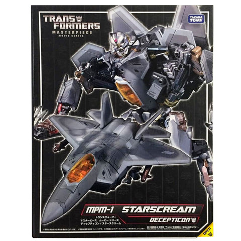 Transformers Masterpiece Movie Series MPM-1 Starscream TakaraTomy Japan Box Pacakge Front