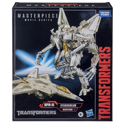 Transformers Masterpiece Movie Series MPM-10 Starscream Box Package Front Hasbro Target USA
