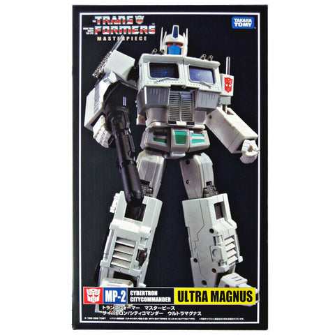 Transformers Masterpiece MP-02 Ultra Magnus Reissue White Robot Box Package Front TakaraTomy Japan