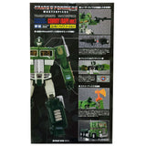 Transformers Masterpiece MP-10A Convoy Bape Ver Green Box Package Back