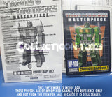 Transformers Masterpiece MP-10A Convoy Bape Ver Green Paperwork