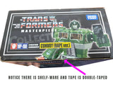 Transformers Masterpiece MP-10A Convoy Bape Ver Green Box Package Top Authentic