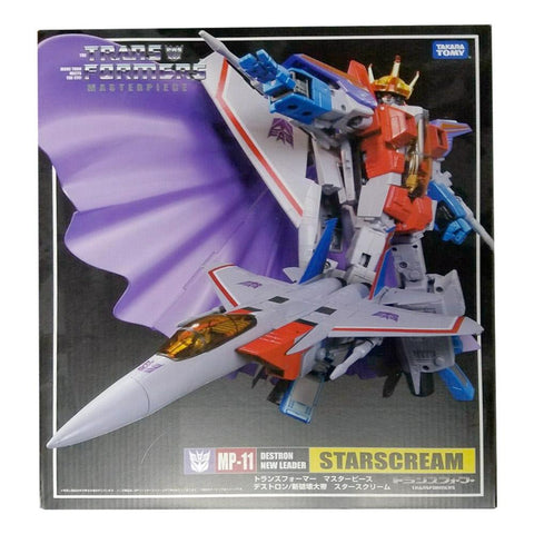 Transformers Masterpiece MP-11 Starscream Destron New Leader 2013 Hasbro Asia Box Front
