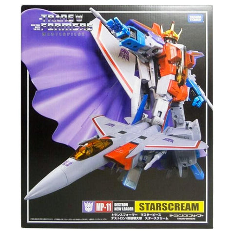 Transformers Masterpiece MP-11 Starscream Destron New Leader Japan TakaraTomy First Run box packaging front