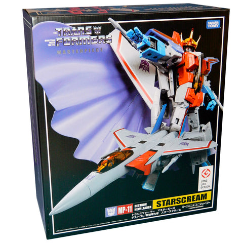 Transformers Masterpiece MP-11 Starscream Destron New Leader 2017 reissue box package long life design
