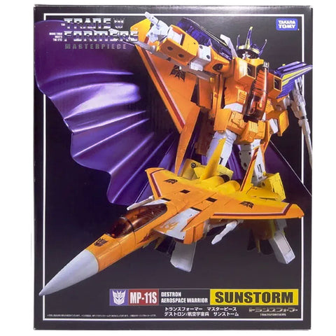 Transformers Masterpiece MP-11S Sunstorm Destron Aerospace Warrior Box Package Front Japan TakaraTomy
