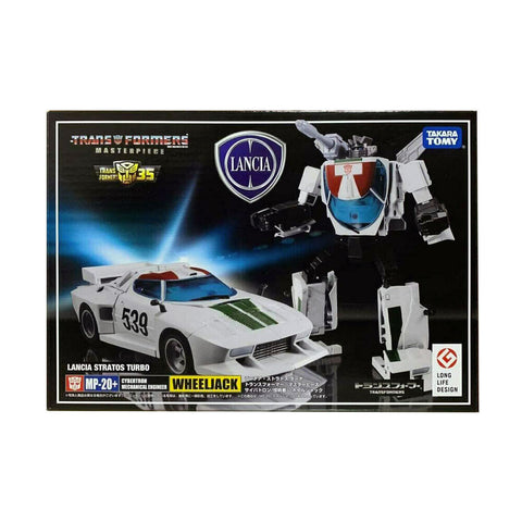 Transformers Masterpiece MP-20+ Plus Anime Wheeljack Japan TakaraTomy Box Package