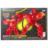 Transformers Masterpiece MP-38+ Plus Burning Convoy Beast Wars Red Clear Primal Japan TakaraTomy Box Package Front