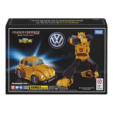 Transformers Masterpiece MP-45 Bumble 2.0 Japan TakaraTomy Box Package