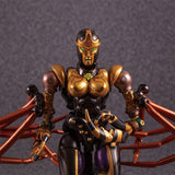 Transformers Masterpiece MP-46 Beast Wars Blackarachnia Black Widow TakaraTomy Japan Robot Face