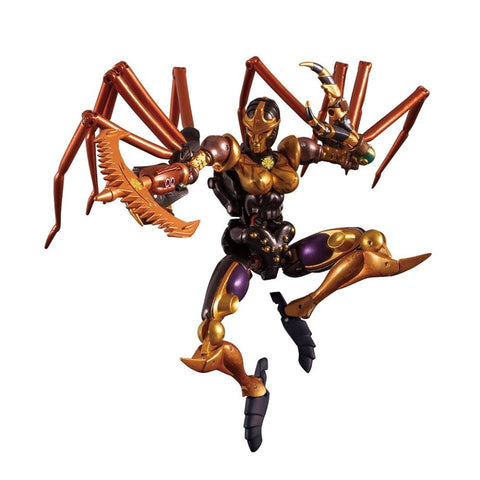 Transformers Masterpiece MP-46 Beast Wars Blackarachnia Black Widow TakaraTomy Japan toy Jump