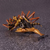 Transformers Masterpiece MP-46 Beast Wars Blackarachnia Black Widow TakaraTomy Japan Robot lay down