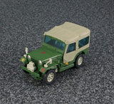 Transformers Masterpiece MP-47 Hound Jeep Canopy USA
