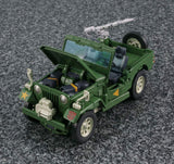 Transformers Masterpiece MP-47 Hound Jeep Engine USA
