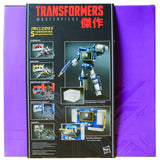 Transformers Masterpiece MP-02 Soundwave with cassettes reissue Hasbro Asia 2016 box package back