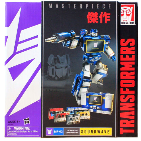 Transformers Masterpiece MP-02 Soundwave with cassettes reissue Hasbro Asia 2016 box package front