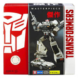 Transformers Masterpiece MP-04 Prowl Autobot Intelligence Specialist Box Package Front Hasbro USA Toys r Us Box Package Front