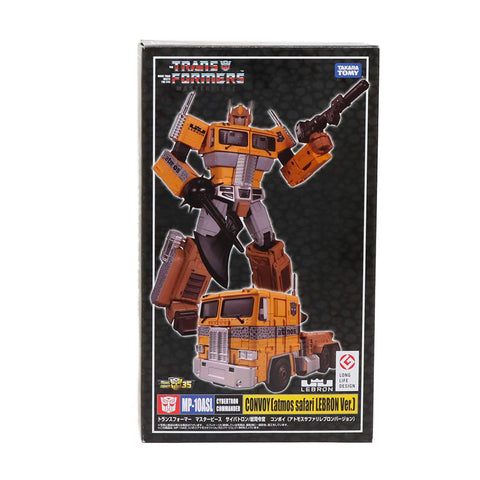 Transformers Masterpiece MP-10ASL Convoy Atmos Safari Lebron Ver Box Package