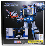 Transformers masterpiece MP-13 Soundwave Laserbeak Reissue 2019 Box Package Front