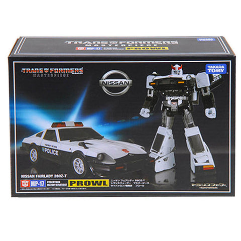 Transformers Masterpiece MP-17 Prowl Police Car Japan TakaraTomy Box Package Front