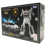 Transformers Masterpiece MP-42 Cordon White Sunstreaker Police car box package