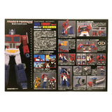 Transformers Masterpiece MP-44 Convoy ver 3.0 Optimus Prime with Trailer box package back