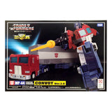 Transformers Masterpiece MP-44 Convoy ver 3.0 Optimus Prime with Trailer box package front side
