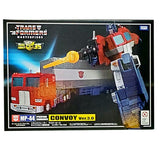 Transformers Masterpiece MP-44 Convoy ver 3.0 Optimus Prime with Trailer box package front