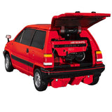Transformers Masterpiece MP-54 Reboost Diaclone Red Honda City Car Toy Trunk Open Scooter