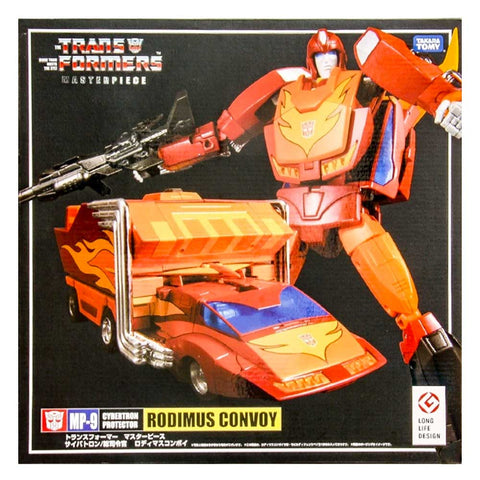 Transformers Masterpiece MP-9 Rodimus Convoy China Reissue Box Package Front 2018