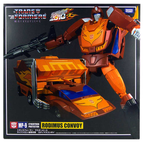 Transformers Masterpiece MP-9 Rodimus Convoy Box Package Front First Run Japan TakaraTomy