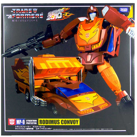 Transformers Masterpiece MP-9 Rodimus Convoy Box Package Front Second Run Japan TakaraTomy