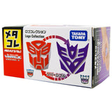 Transformers G1 Meta Colle Logo Collection Autobot Decepticon Insignia box package