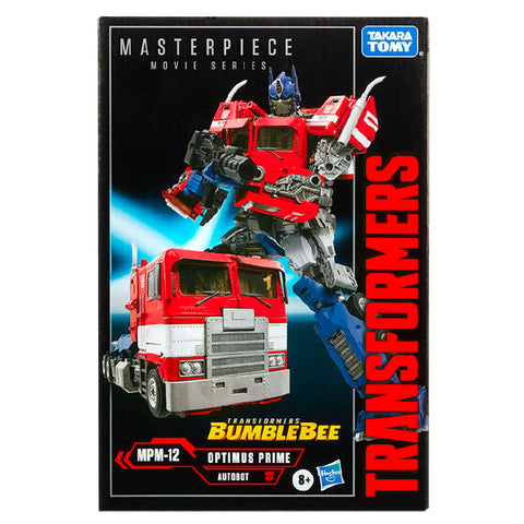 Transformers Movie Masterpiece MPM12 Optimus Prime Bumblebee Movie Film Hasbro USA Target Exclusive Box Package Front