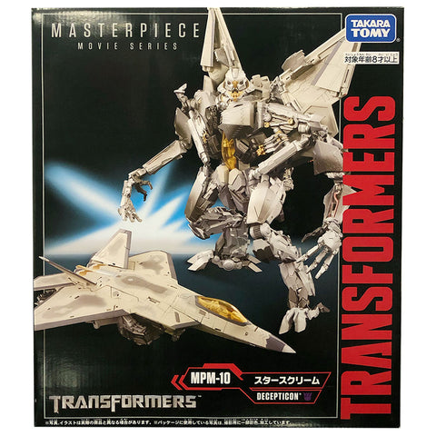 Transformers Movie Masterpiece Series MPM-10 Starscream Japan TakaraTomy box package front