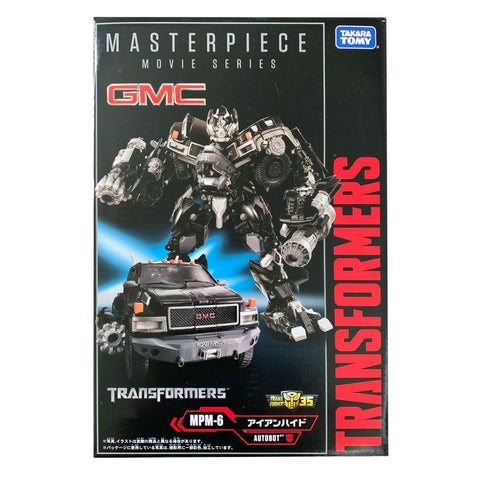 Transformers Movie Masterpiece MPM-6 Ironhide Japan 35th Anniversary Box Package TakaraTomy