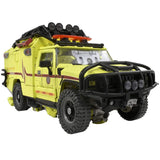 Transformers Masterpiece Movie Series MPM-11 Autobot Ratchet Japan TakaraTomy ambulance emergency vehicle toy front Toy
