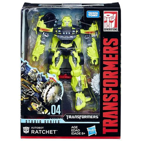 Transformers Movie Studio Series 04 deluxe autobot ratchet box package front